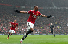 Emphatic impact sub Martial scores late winner to sink Tottenham at Old Trafford
