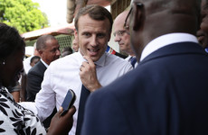 Macron jokes about marijuana during tense State visit to French Guiana