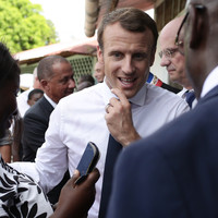 Macron jokes about marijuana during tense State visit to French Guiana