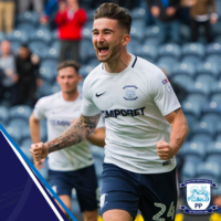Sean Maguire scored a brilliant solo goal as Preston fell at home to Brentford this afternoon