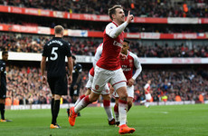 Landmark Ramsey goal earns Arsenal a comeback victory over Swansea