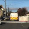 Woman hospitalised after crash between garda van and car in Waterford