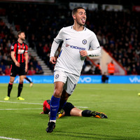 Hazard winner gives Conte timely boost as Chelsea move into top four