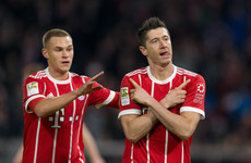 Controversial VAR-aided red card helps table-toppers Bayern see off Leipzig