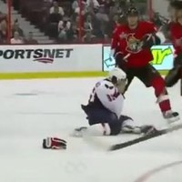 WATCH: NHL player scores goal with his face