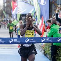 Kenya's Rotich storms to Dublin City Marathon glory while Ukraine's Lehonkova claims women's title