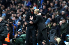 Klopp in dreamland over title claim, says Guardiola