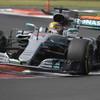 Lewis Hamilton lands fourth F1 world title despite crash at Mexican GP