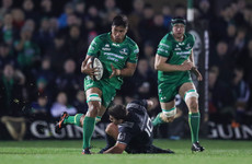 Connacht lose back row Butler for six weeks to knee injury