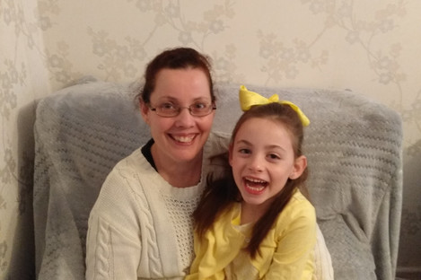 Maria Conlon with her daughter Isabelle