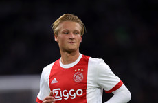 The Ajax starlet who lit up last season's Europa League is only on standby for Ireland-Denmark