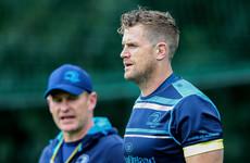 Leinster still unsure when Jamie Heaslip will be back but insist progress has been made