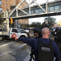 Eight dead, over a dozen injured after truck strikes pedestrians in New York City terror attack