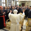 Pope says marriage is only place 'worthy' of conception