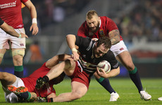 Irish prop Jager retained by Crusaders for 2018 Super Rugby season