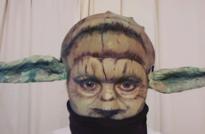 This Sligo woman's Halloween Yoda transformation is absolutely brilliant