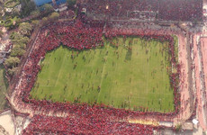 Al-Ahly forced to call off training as thousands of fans swarm the pitch