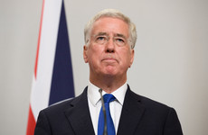 UK Defence Secretary resigns, says his past behaviour may have 'fallen short'