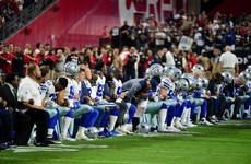 Sponsor complains over NFL anthem controversy