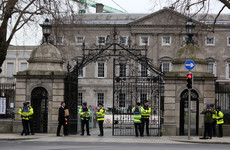 'You never know who would be after us': Security beefed up at Leinster House amid fear of threats