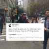 Gigi Hadid called out a woman for criticising Muslims on the streets of New York after this week's attack