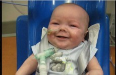 One-year-old Sergio O'Connor on way to Boston for life-saving surgery