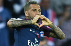 'We definitely liked to face Arsenal. They were a team we dominated and had control over' - Alves