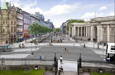The multimillion-euro project to pedestrianise College Green has hit a setback