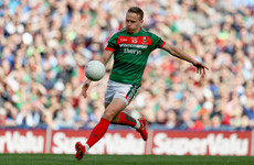 Andy Moran becomes the 2nd successive Mayo player to win Footballer of the Year