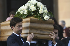 Maltese journalist's funeral held after media and politicians told to stay away