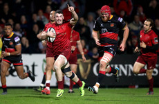 Ras-matazz: Munster give Erasmus the perfect send-off as Simon Zebo scores in rout