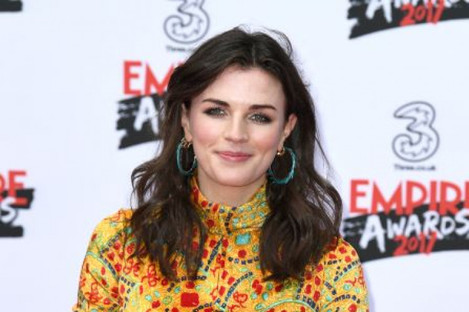 Aisling Bea arriving at the Three Empire Awards in London earlier this year