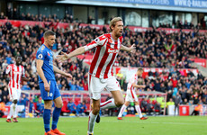 Late Crouch equaliser snatches point for Stoke after Mahrez dazzles