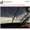 Daytona 500: Racer tweets from the driver's seat after crash