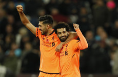 Superb Salah brace steals the show as Liverpool turn up pressure on Bilic and West Ham