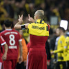 Arjen Robben makes history with stunning goal as Bayern boss Dortmund in derby