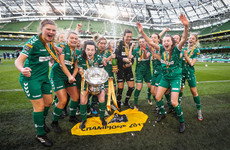 Cork City get FAI Cup final day off to the perfect start by lifting the women's trophy