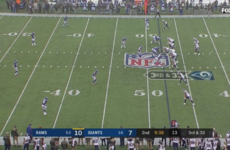 This play sums up how catastrophically bad the New York Giants are right now