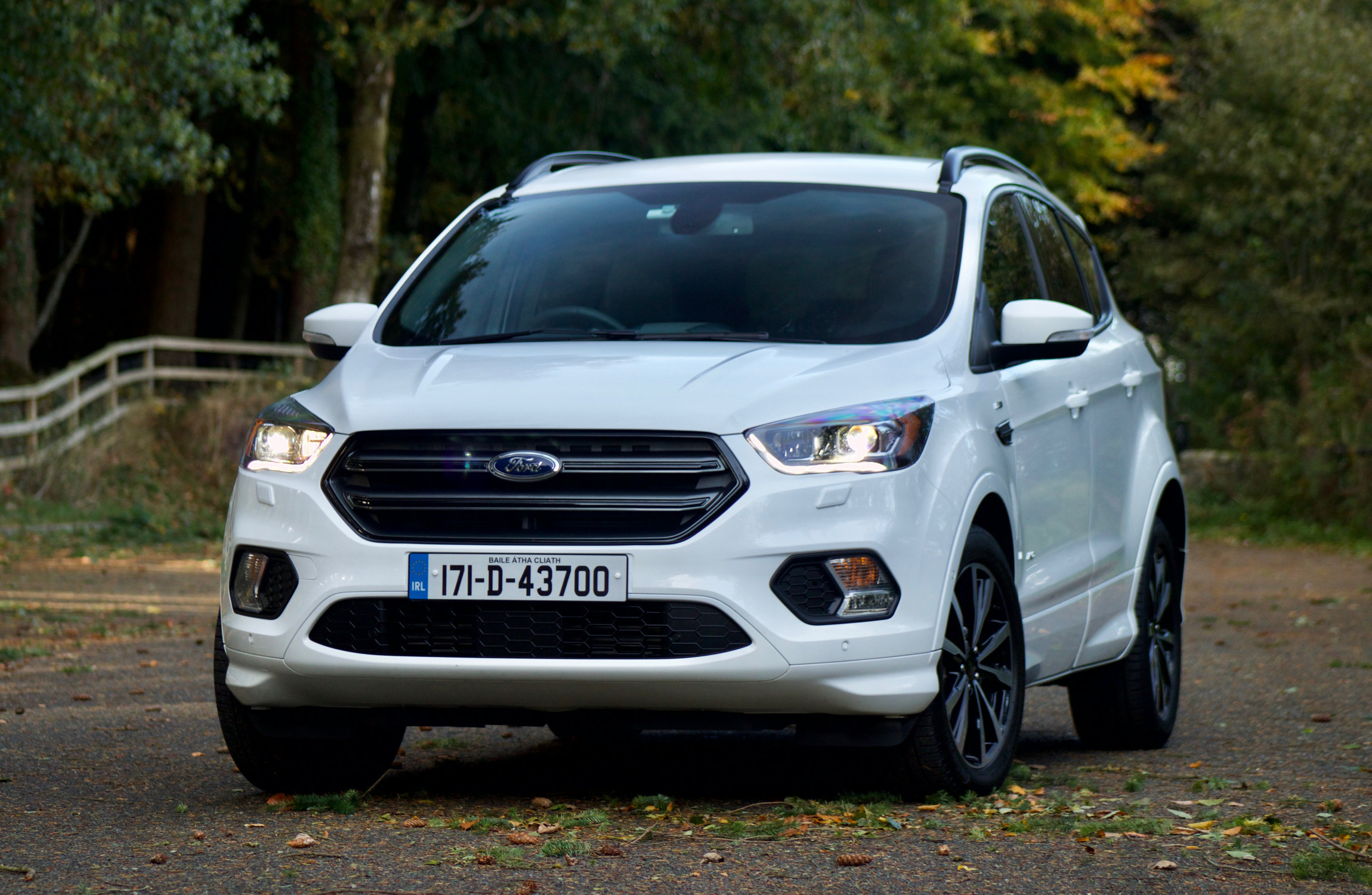 2017 Ford Escape Black >> Review: The Ford Kuga ST-Line is a great SUV for families, even older ones