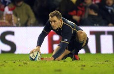Great Scot! Dan Parks agrees move to Connacht - update