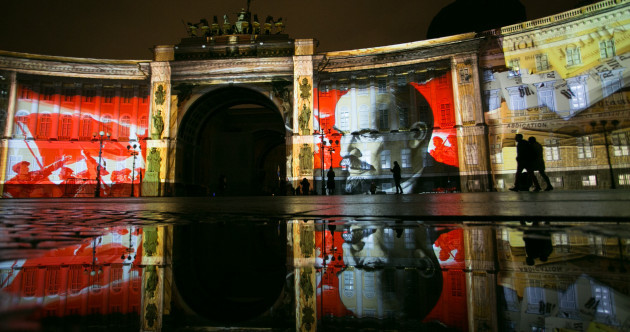 Today marks 100 years since the communist revolution in Russia