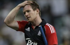That's not cricket: Eoin Morgan dropped for England's Sri Lanka series