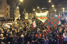 Thousands gather to welcome victorious Cork City teams back to Leeside