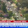 Two eight-year-old boys die as car ploughs into Sydney classroom