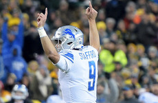 Lions prove more than a match for Rodgers-less Packers