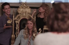Taylor Swift flew Irish fans over to London for a secret session of 'Reputation' and it looked intense