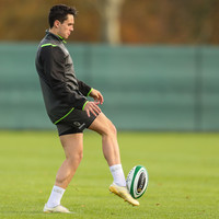 Carbery happy to take charge in backline, even when it means over-ruling Sexton