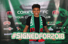 Double-winners Cork secure the signature of promising defender Adebayo-Rowling