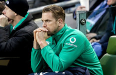 Ireland hope to call on 'fit and fresh Jamie Heaslip come the New Year'