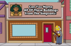 Can You Name All Of These Buildings From The Simpsons?